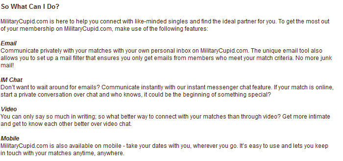 Military Singles Connection Review - See why we gave ...