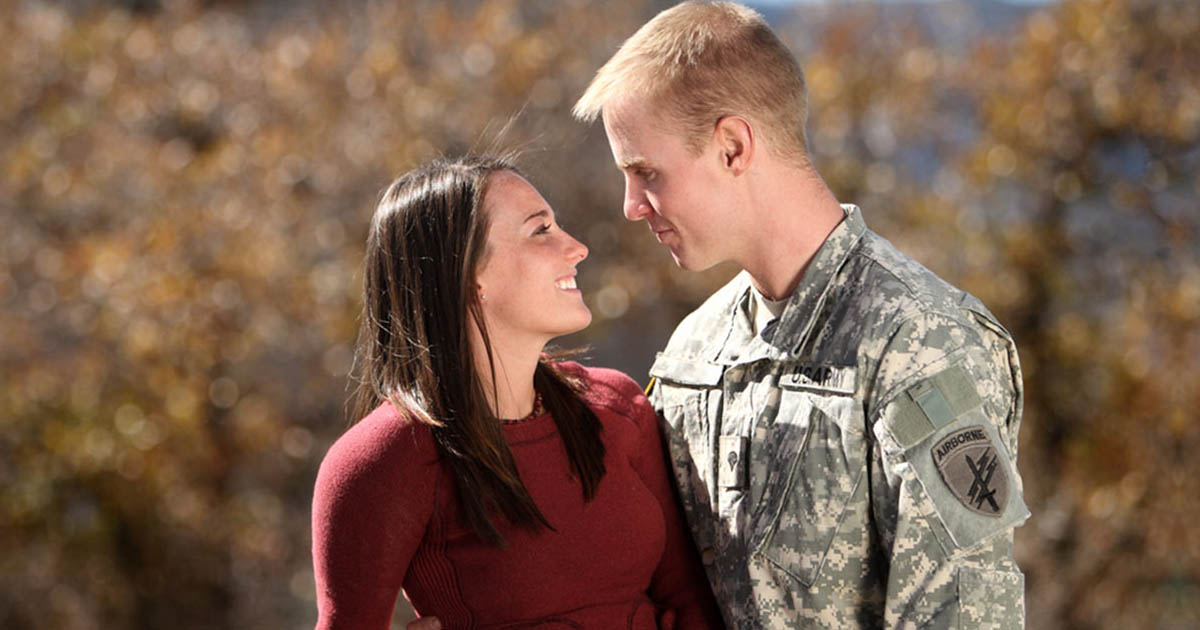 military meet dating